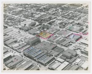 Primary view of object titled '[Aerial View of McAllen]'.