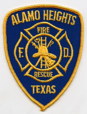 [Alamo Heights, Texas Fire Department Patch]