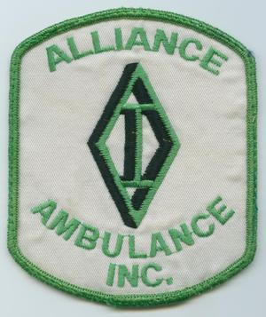 [Alliance Ambulance Inc. Patch]