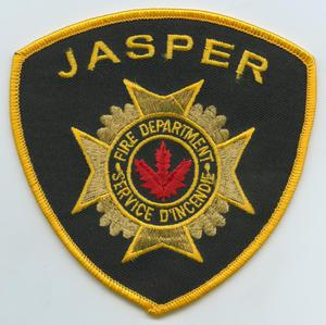 Primary view of object titled '[Jasper, Texas Fire Department Patch]'.