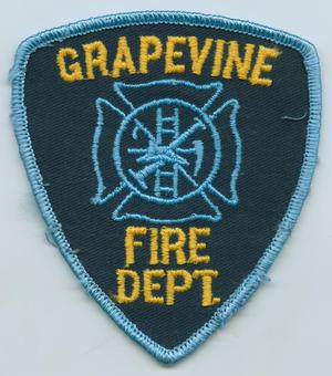 Primary view of object titled '[Grapevine, Texas Fire Department Patch]'.
