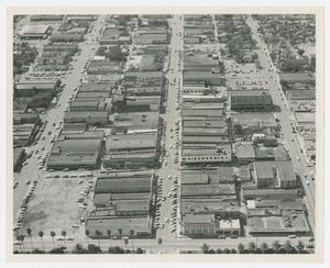 [Aerial View of Downtown McAllen]