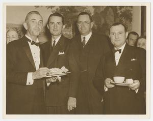 [Men at Inaugural Reception]