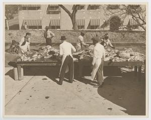 [Workers at the Inaugural Barbecue]