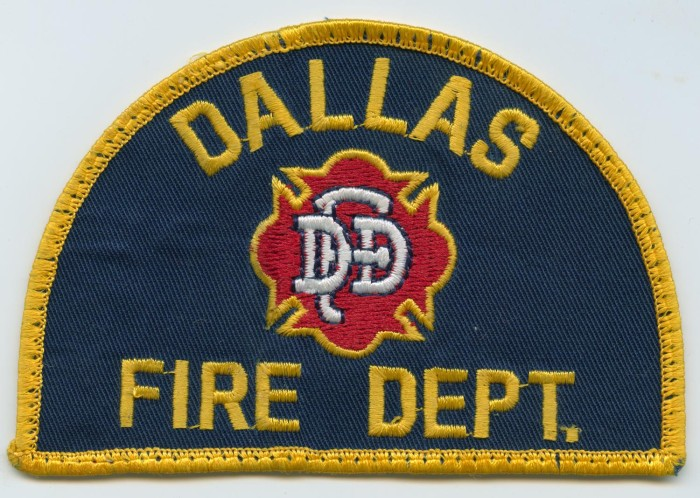 Dallas Love Field Medic 1 TX Fire Dept Patch Texas