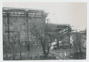 Primary view of object titled '[Gym Building Construction]'.