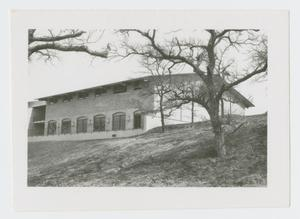 Primary view of object titled '[Building at Cistercian Prepatory School]'.