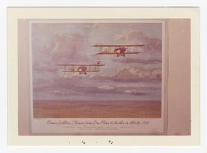 Primary view of object titled '[Ormer Locklear changing planes]'.