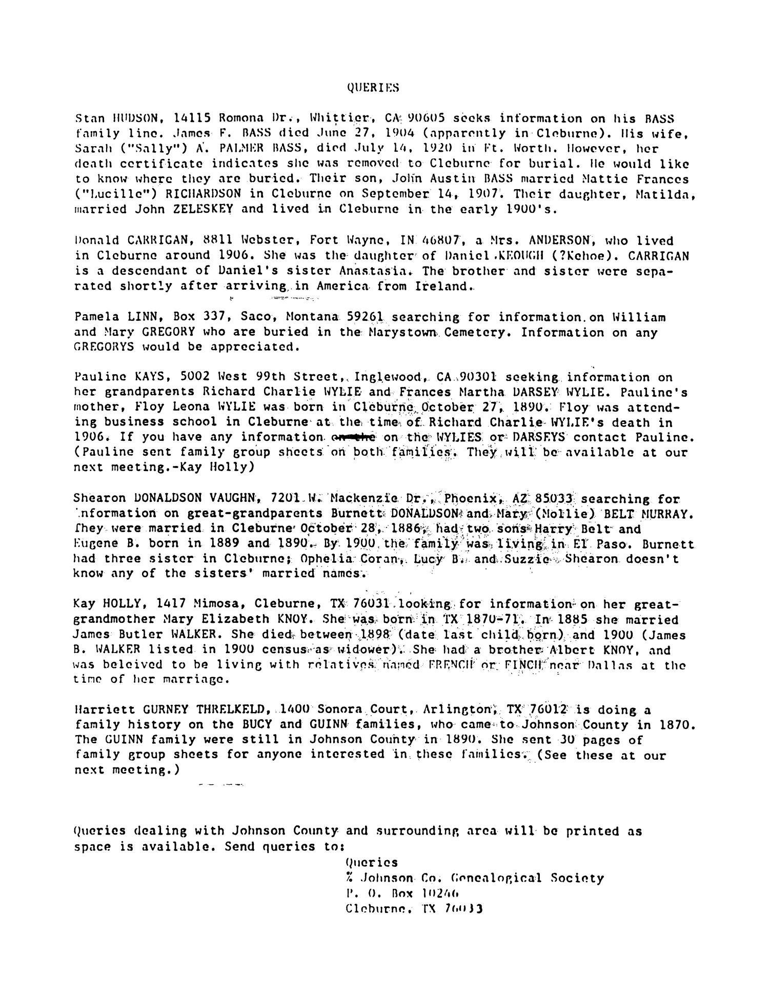Finders keepers volume 1 number 1 1984 page 3 the portal finders keepers volume 1 number 1 1984 page 3 the portal to texas history aiddatafo Choice Image
