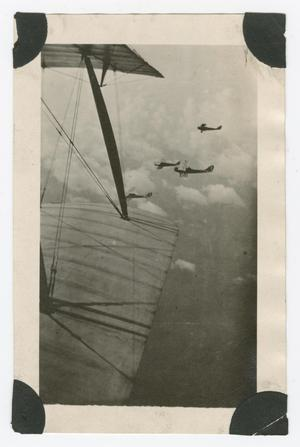 Primary view of object titled '[Four biplanes]'.