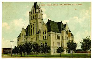 Primary view of object titled 'Court House, Oklahoma City, Okla'.