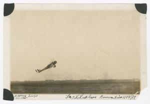 Primary view of object titled '[Locklear taking off]'.
