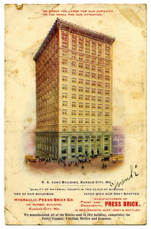 Primary view of object titled 'R.A. Long Building, Kansas City, Mo.'.