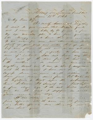 [Letter from Joseph A. Carroll to Celia Carroll, June 18, 1864]
