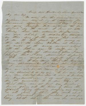 [Letter from Joseph A. Carroll to Celia Carroll, April 5, 1865]