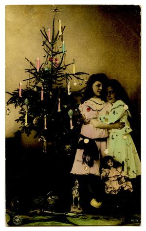 Primary view of object titled '[Christmas Tree and Girls]'.