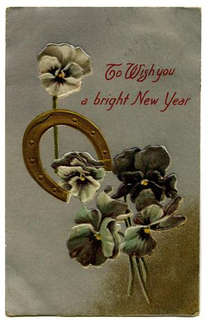 Primary view of object titled 'To Wish you a bright New Year'.