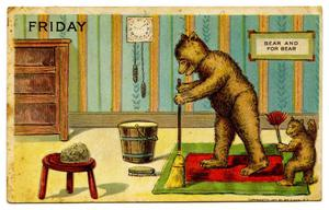 Primary view of object titled '[Bears on Friday]'.