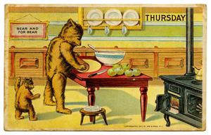 Primary view of object titled '[Bears on Thursday]'.