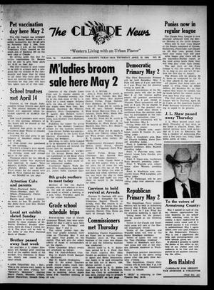 Claude News (Claude, Tex.), Vol. 74, No. 36, Ed. 1 Thursday, April 23, 1964