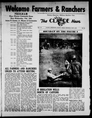 Claude News (Claude, Tex.), Vol. 66, No. 24, Ed. 1 Thursday, February 9, 1956
