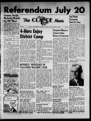Claude News (Claude, Tex.), Vol. 67, No. 42, Ed. 1 Thursday, June 13, 1957