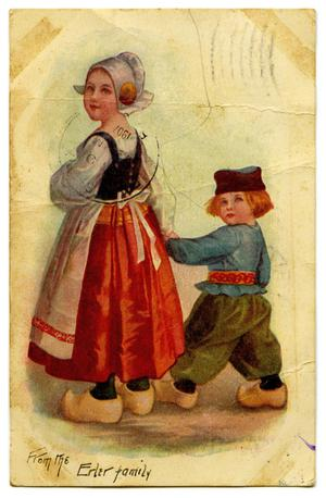 Primary view of object titled '[A Dutch Girl and Boy]'.