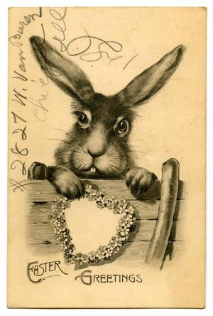 Primary view of object titled '[Easter Greetings]'.