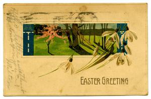 Primary view of object titled '[Easter Greeting]'.