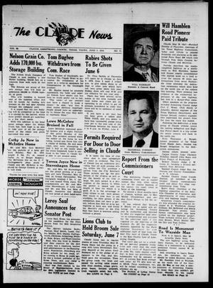 Claude News (Claude, Tex.), Vol. 68, No. 41, Ed. 1 Thursday, June 5, 1958