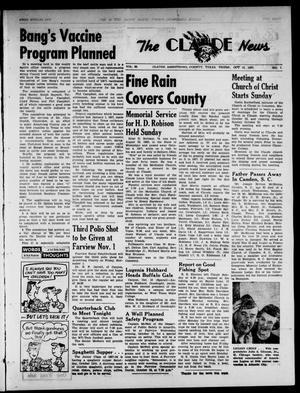 Claude News (Claude, Tex.), Vol. 68, No. 7, Ed. 1 Thursday, October 10, 1957