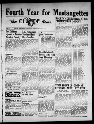 Claude News (Claude, Tex.), Vol. 64, No. 28, Ed. 1 Thursday, March 11, 1954