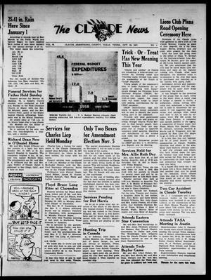Claude News (Claude, Tex.), Vol. 68, No. 9, Ed. 1 Thursday, October 24, 1957