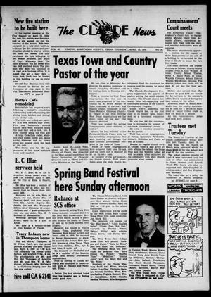 Primary view of Claude News (Claude, Tex.), Vol. 69, No. 34, Ed. 1 Thursday, April 16, 1959