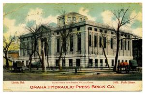 Primary view of object titled '[Omaha Hydraulic-Press Brick Co.]'.