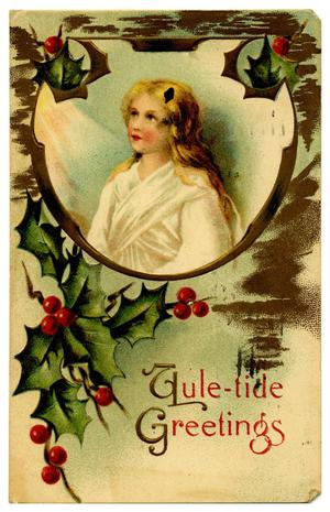 Primary view of object titled '[Yule-tide Greetings]'.