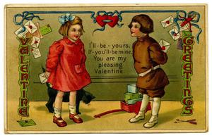 Primary view of object titled '[Valentine Greetings]'.