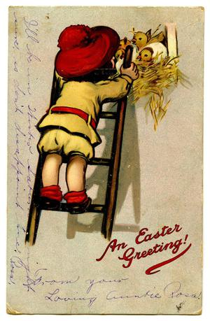 Primary view of object titled '[An Easter Greeting]'.