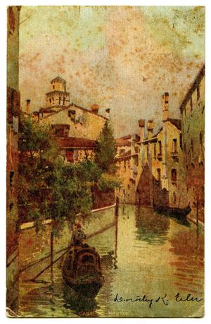 Primary view of object titled '[Canal St. Martin]'.