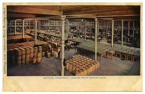 Primary view of object titled 'Bottling Department of Anheuser Busch Brewing Association'.