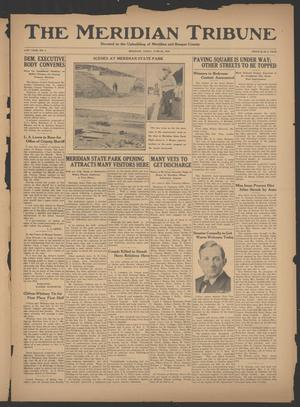 Primary view of object titled 'The Meridian Tribune (Meridian, Tex.), Vol. 41, No. 4, Ed. 1 Friday, June 22, 1934'.