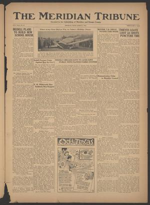 Primary view of object titled 'The Meridian Tribune (Meridian, Tex.), Vol. 40, No. 40, Ed. 1 Friday, March 2, 1934'.