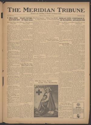 Primary view of object titled 'The Meridian Tribune (Meridian, Tex.), Vol. 41, No. 21, Ed. 1 Friday, October 19, 1934'.