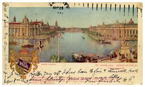 Primary view of object titled 'Grand Lagoon, St Louis Exposition'.