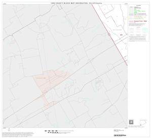 Primary view of object titled '1990 Census County Block Map (Recreated): Ellis County, Block 24'.