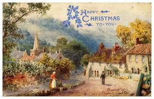 Primary view of object titled 'A Happy Christmas to You - Bishop's Tawton'.