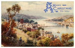 Primary view of object titled 'A Happy Christmas to You - Bideford'.