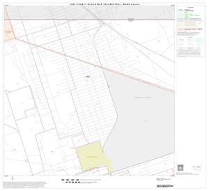 Primary view of object titled '1990 Census County Block Map (Recreated): Ward County, Block 6'.