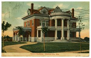 Primary view of object titled 'Colcord Residence, Oklahoma City, Okla.'.