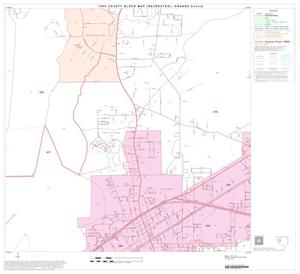 Primary view of object titled '1990 Census County Block Map (Recreated): Orange County, Block 8'.